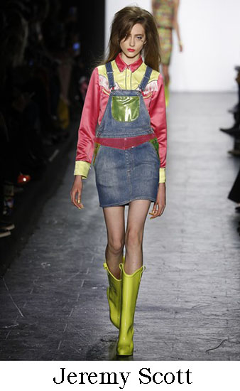 Jeremy Scott Autunno Inverno 2016 207 Donna Look 17