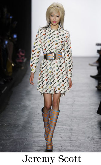 Jeremy Scott Autunno Inverno 2016 207 Donna Look 7