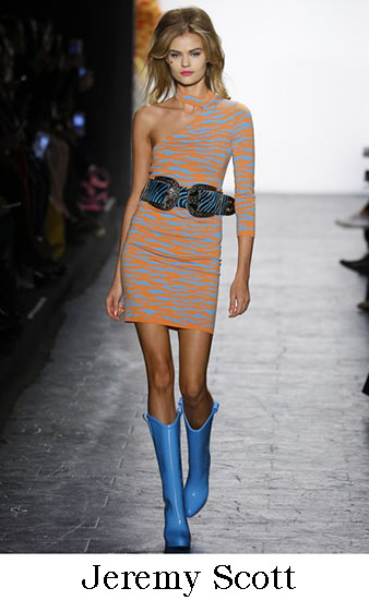 Jeremy Scott Autunno Inverno 2016 207 Donna Look 8
