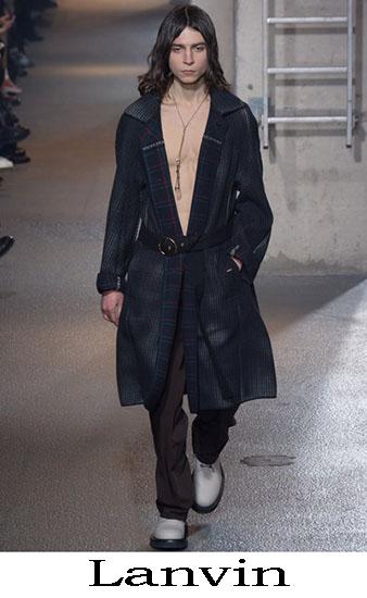 Lanvin Autunno Inverno 2016 2017 Moda Uomo Look 1