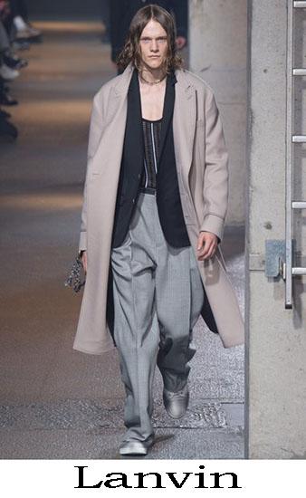 Lanvin Autunno Inverno 2016 2017 Moda Uomo Look 11