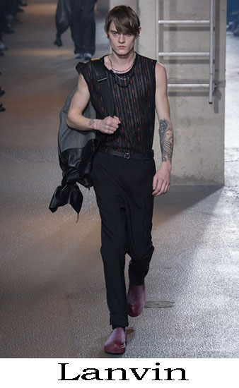Lanvin Autunno Inverno 2016 2017 Moda Uomo Look 14