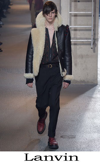 Lanvin Autunno Inverno 2016 2017 Moda Uomo Look 16