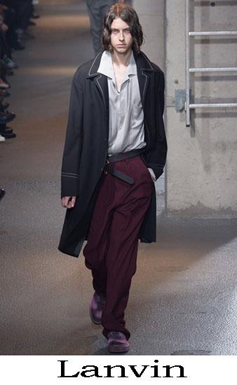 Lanvin Autunno Inverno 2016 2017 Moda Uomo Look 18
