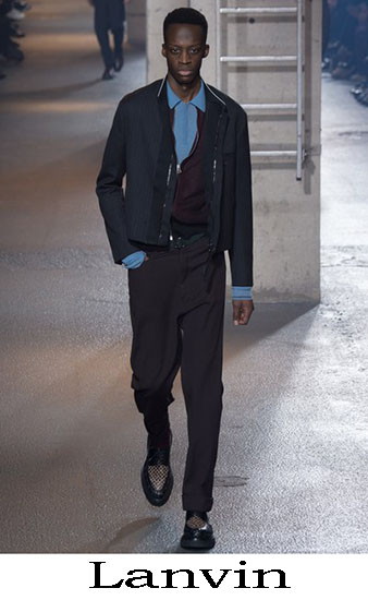 Lanvin Autunno Inverno 2016 2017 Moda Uomo Look 21