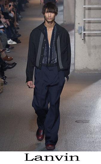 Lanvin Autunno Inverno 2016 2017 Moda Uomo Look 30