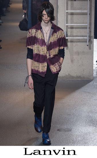 Lanvin Autunno Inverno 2016 2017 Moda Uomo Look 35