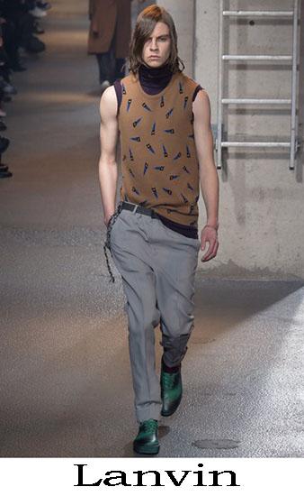 Lanvin Autunno Inverno 2016 2017 Moda Uomo Look 39