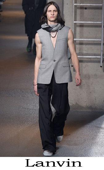 Lanvin Autunno Inverno 2016 2017 Moda Uomo Look 4