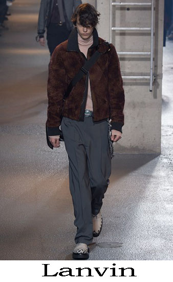 Lanvin Autunno Inverno 2016 2017 Moda Uomo Look 44