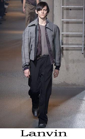 Lanvin Autunno Inverno 2016 2017 Moda Uomo Look 45