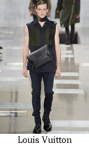 Louis Vuitton Autunno Inverno 2016 2017 Uomo Look 22