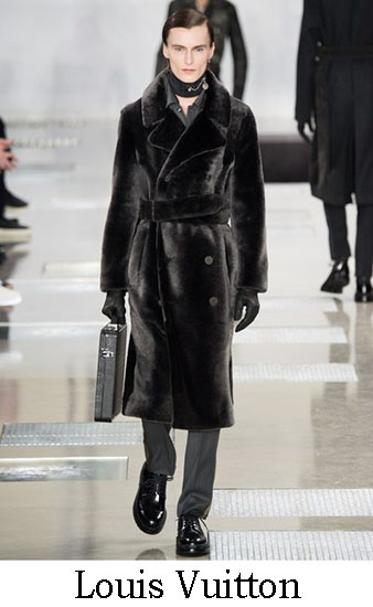 Louis Vuitton Autunno Inverno 2016 2017 Uomo Look 4