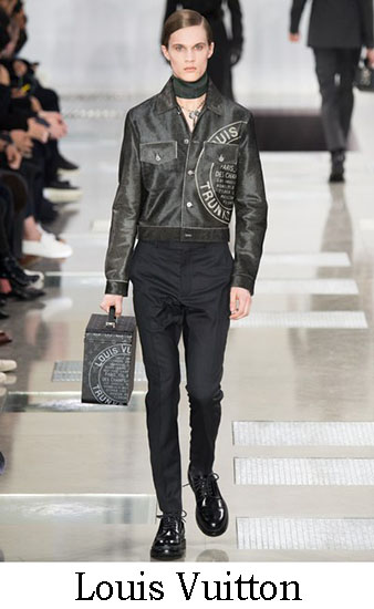 Louis Vuitton Autunno Inverno 2016 2017 Uomo Look 5