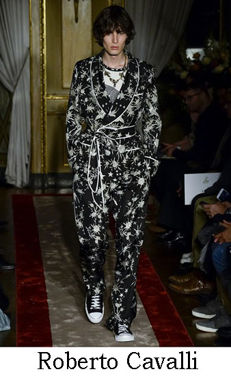 Roberto Cavalli Autunno Inverno 2016 2017 Uomo Look 10