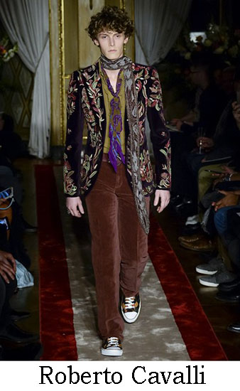 Roberto Cavalli Autunno Inverno 2016 2017 Uomo Look 20