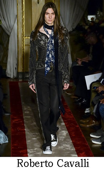Roberto Cavalli Autunno Inverno 2016 2017 Uomo Look 5