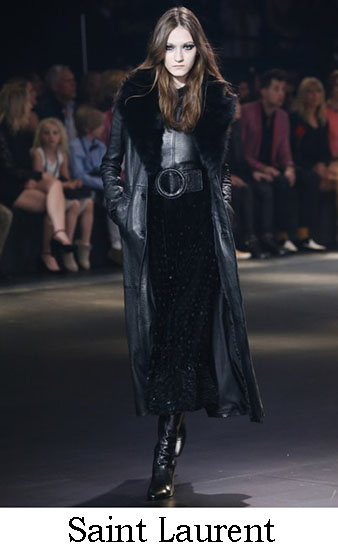 Saint Laurent Autunno Inverno 2016 2017 Donna Look 13
