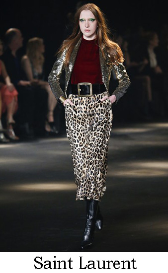 Saint Laurent Autunno Inverno 2016 2017 Donna Look 20