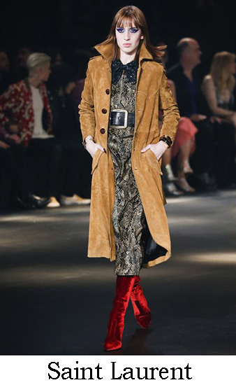 Saint Laurent Autunno Inverno 2016 2017 Donna Look 22