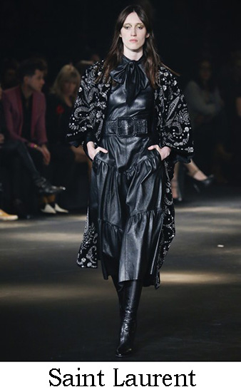 Saint Laurent Autunno Inverno 2016 2017 Donna Look 36