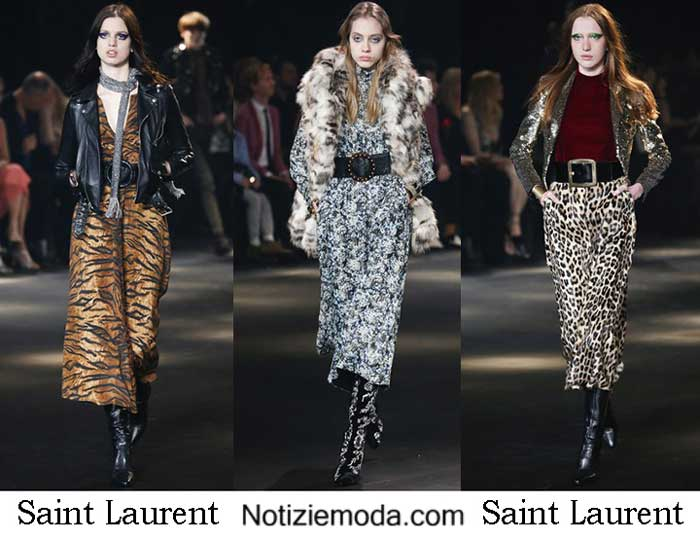 Saint Laurent Autunno Inverno 2016 2017 Donna