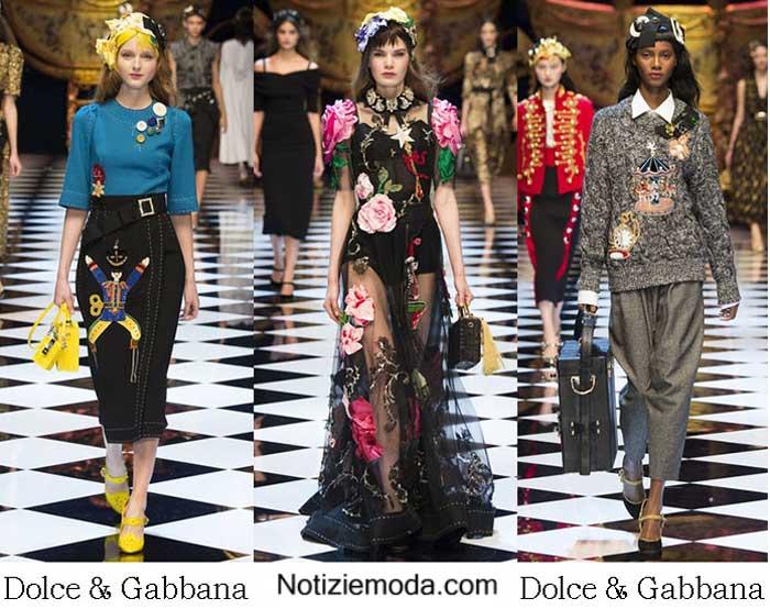 62880e5e2b Style Dolce Gabbana autunno inverno 2016 2017 donna