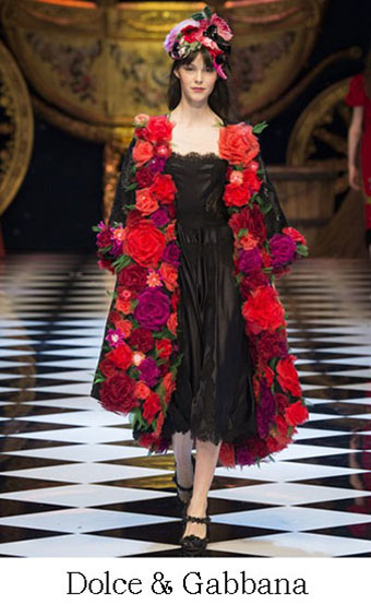 Style Dolce Gabbana Autunno Inverno 2016 2017 Look 1