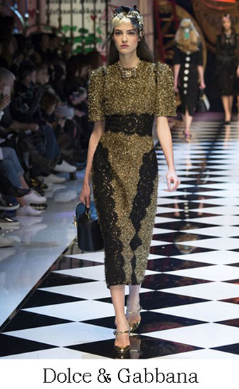 Style Dolce Gabbana Autunno Inverno 2016 2017 Look 13