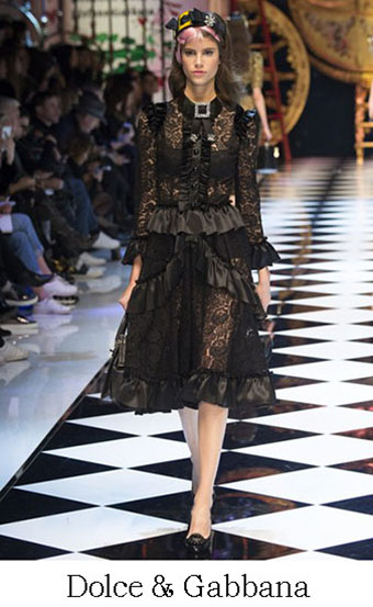 Style Dolce Gabbana Autunno Inverno 2016 2017 Look 14