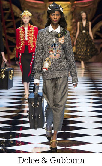 Style Dolce Gabbana Autunno Inverno 2016 2017 Look 21