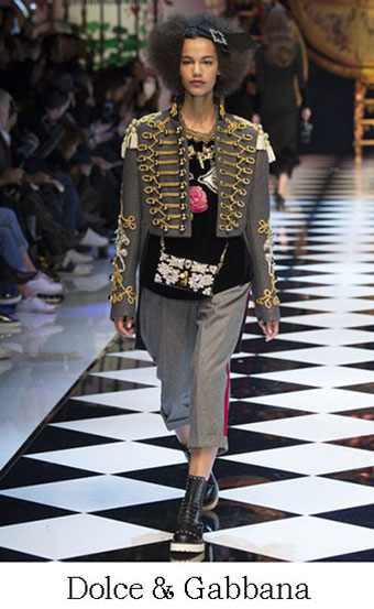 Style Dolce Gabbana Autunno Inverno 2016 2017 Look 4