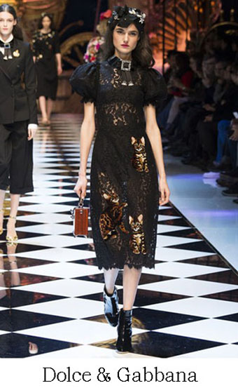 Style Dolce Gabbana Autunno Inverno 2016 2017 Look 41