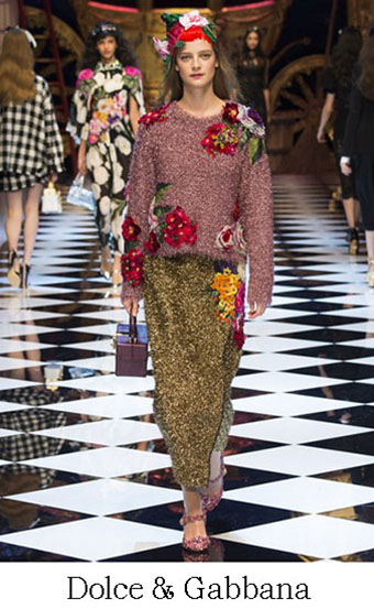 Style Dolce Gabbana Autunno Inverno 2016 2017 Look 43
