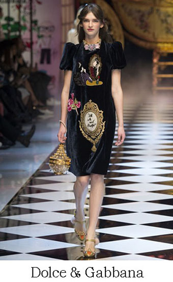 Style Dolce Gabbana Autunno Inverno 2016 2017 Look 45