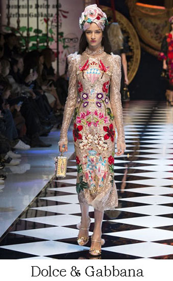 Style Dolce Gabbana Autunno Inverno 2016 2017 Look 53