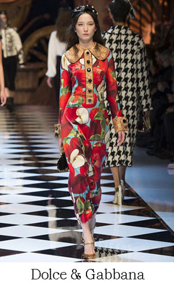 Style Dolce Gabbana Autunno Inverno 2016 2017 Look 54