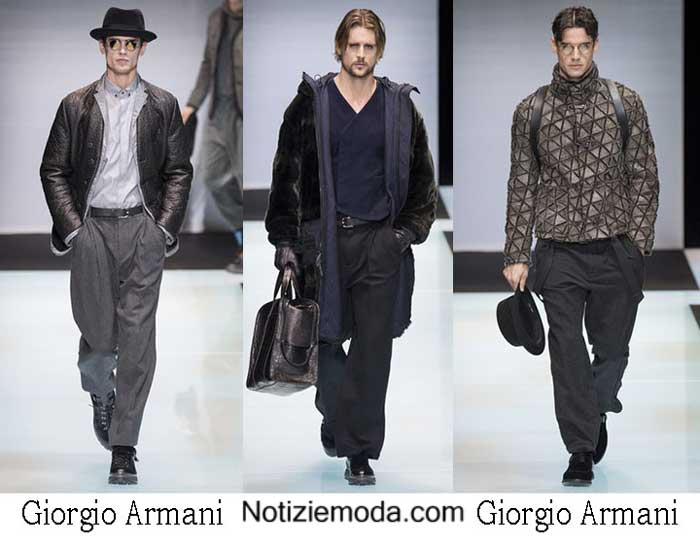 Style Giorgio Armani Autunno Inverno Nuovi Arrivi Uomo