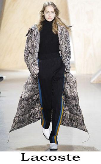 Style Lacoste Autunno Inverno 2016 2017 Donna 6