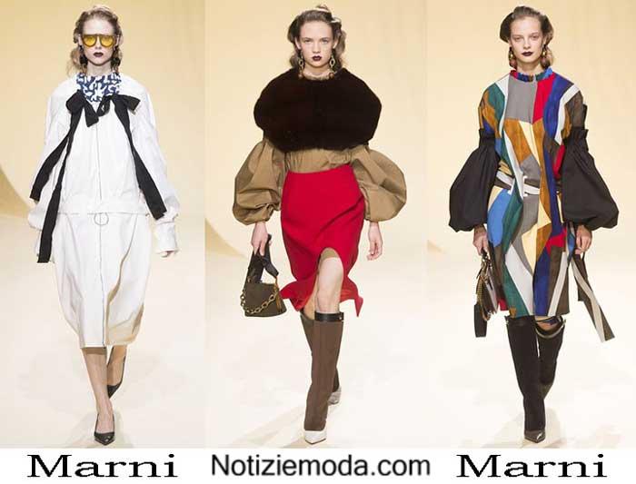 Style Marni Autunno Inverno 2016 2017 Moda Donna