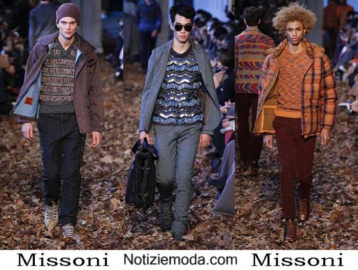 premium selection 7b6c4 dcc29 Style Missoni autunno inverno 2016 2017 moda uomo