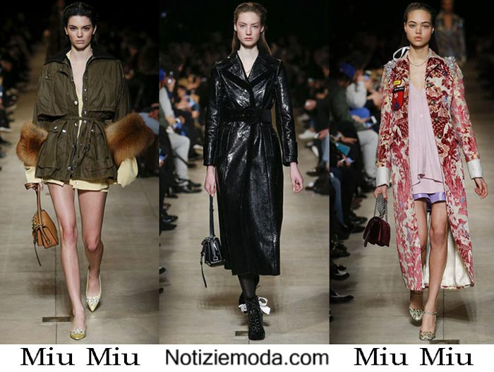 Style Miu Miu Autunno Inverno 2016 2017 Moda Donna