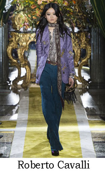 Style Roberto Cavalli Autunno Inverno 2016 2017 Look 9