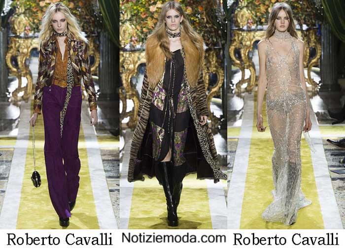 size 40 0b0b7 87907 Style Roberto Cavalli Autunno Inverno 2016 2017 Moda Donna