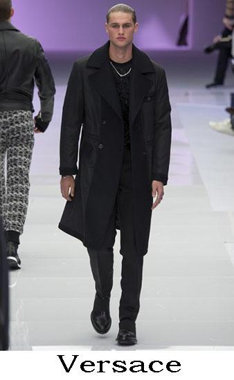 Versace Autunno Inverno 2016 2017 Moda Uomo Look 1