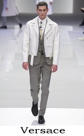 Versace Autunno Inverno 2016 2017 Moda Uomo Look 10