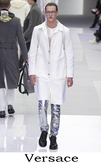Versace Autunno Inverno 2016 2017 Moda Uomo Look 11