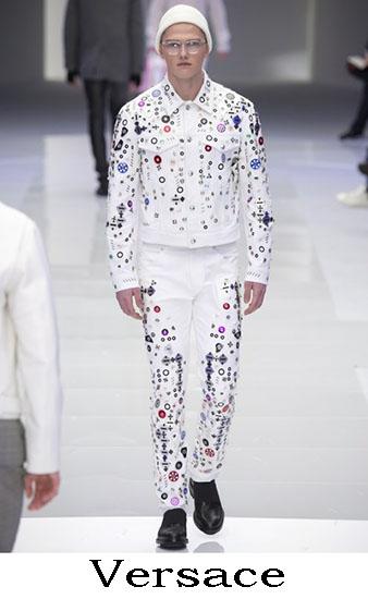 Versace Autunno Inverno 2016 2017 Moda Uomo Look 14