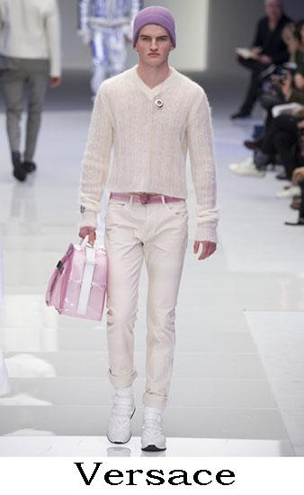 Versace Autunno Inverno 2016 2017 Moda Uomo Look 15