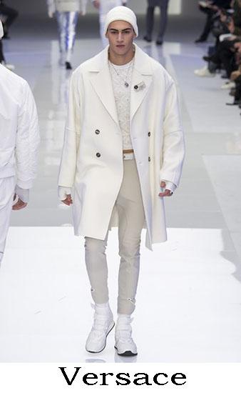 Versace Autunno Inverno 2016 2017 Moda Uomo Look 17